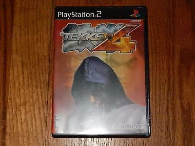 Tekken 4 (Sony PlayStation 2, 2002) Epic Rare Namco Fighting Game PS2 Revolution