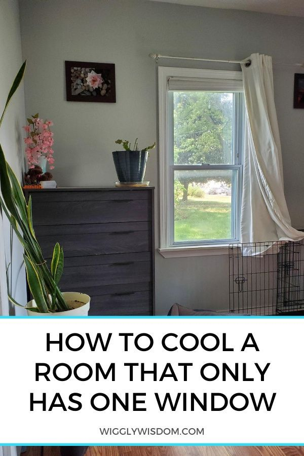 How To Cool A Room That Only Has One Window Whole House Fans House Fan Install Attic Fan