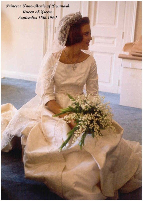 17 best images about greek royal family on pinterest for Princess anne wedding dress