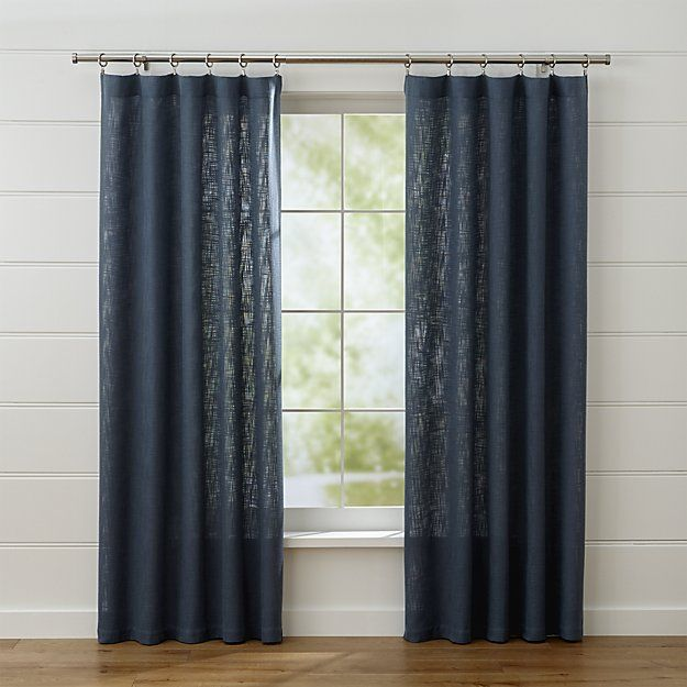 Lindstrom Blue Curtain Panels