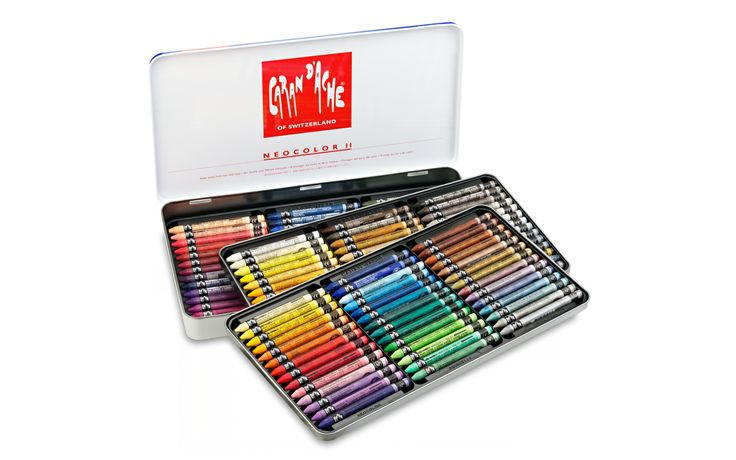Caran d'ache neocolor II 126 colors set