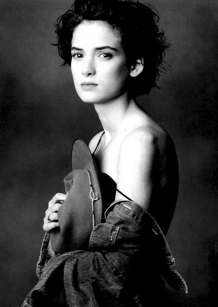 Winona Ryder by Annie Leibovitz