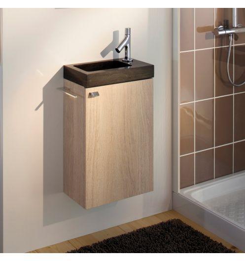 meuble lave main bois httpwwwdeco et saveurs - Meuble Lave Main Ikea