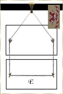 """Here is how to hang pictures from pictures. This webpage has many other examples of """"back sides."""" Ha-ha."""