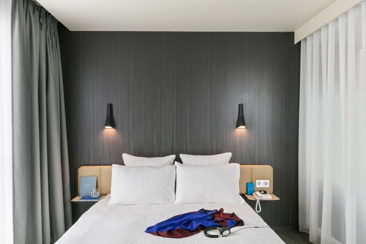 Okko Hotel interior by Patrick Norguet, Porte de Versailles – France » Retail Design Blog