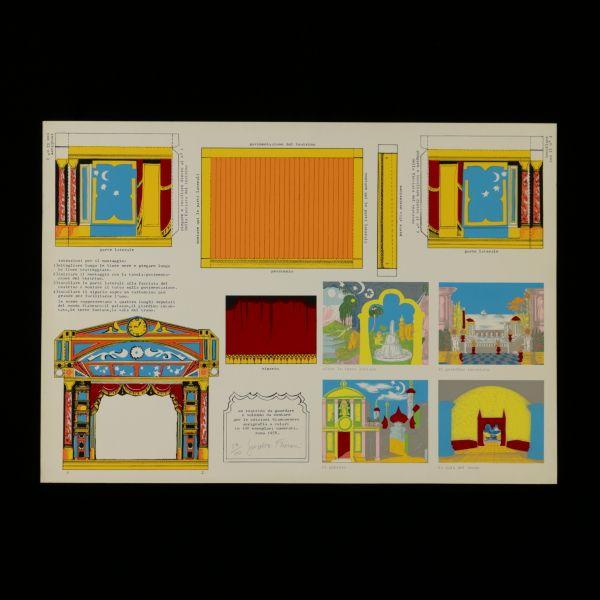 Serigrafia a 10 colori di Giosetta Fioroni. Firmata e datata 1978, in basso. N. serie 83/100. Edizione Biancoenero di Roma. Presentata nella cartella cartonata originale.