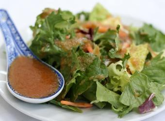 Japanese Ginger Salad Dressing - bring big flavor to your everyday salad