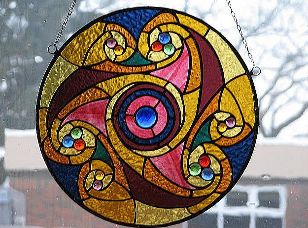 Love this Stained glass circle. Would like to know who makes and how much.
