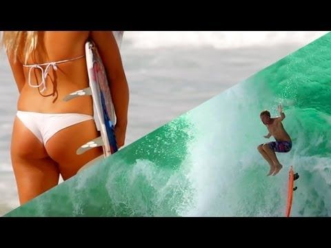 Crazy #Surf & #Girls - Red Bull Video!