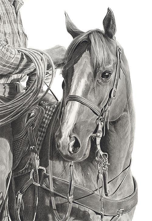 Horse Art: Amazing detail (Dunway Enterprises)