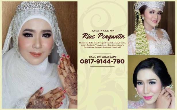 Paket Rias Pengantin Make Up Pernikahan Wedding Planning