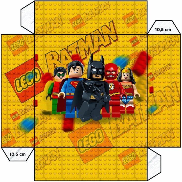 Lego Movie: Free Printable Boxes.