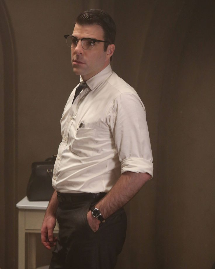 Zachary Quinto as Dr. Olivr Thredson