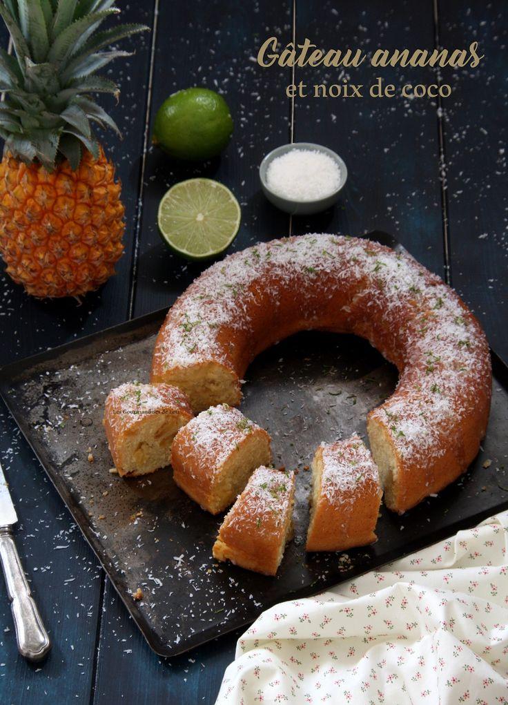 Une recette fraîche et gourmande sublimée par un glaçage au citron vert. C'est LA touche d'exotisme qui manquait à votre goûter !