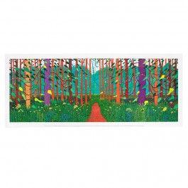 David Hockney 'Arrival Of Spring' Poster | Royal Academy of Arts | Shop
