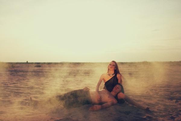 DESERT ISLAND by Ela Żubrowska by Joanna Stawowy, via Behance