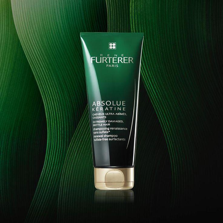 Восстанавливающий шампунь Rene Furterer Absolu Keratine Shampoo. Шампунь уход для экстремально повреждённых, хрупких волос.  * Не содержит сульфатов и силикона.  #ReneFurterer #AbsoluKeratine #ILoveSabina