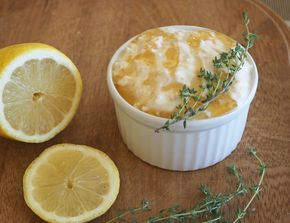 Lemon, Thyme and Honey Overnight Oats