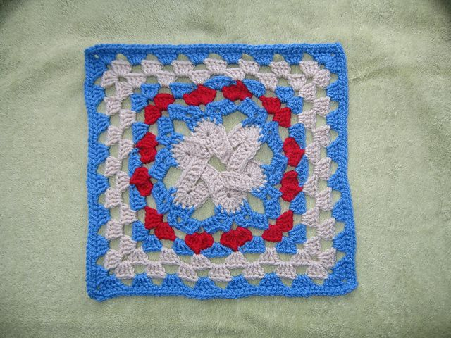 Crochet Stitches Ravelry : crochet afghan crochet 2 appliques 1 granny motifs crochet patterns ...