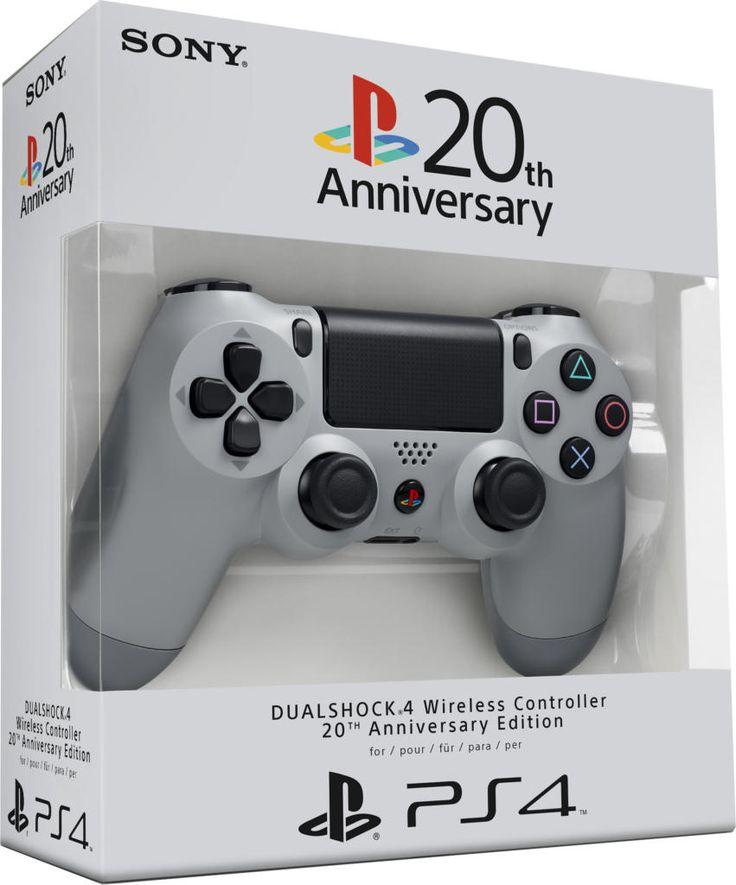 Manette DualShock 4 édition 20 ème anniversaire - PS4 - Acheter vendre sur Référence Gaming