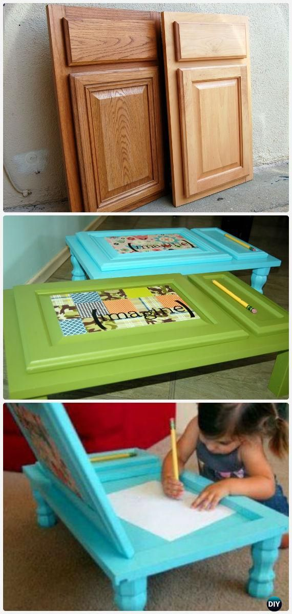 Easy DIY Back-To-School Kids Furniture Ideas Projects Instructions