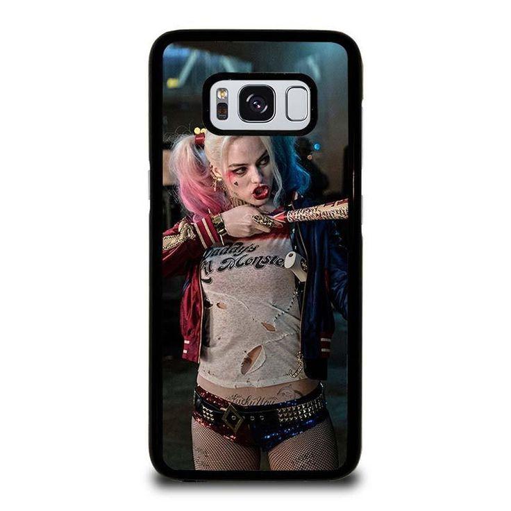 HARLEY QUINN SUICIDE SQUAD Samsung Galaxy S3 S4 S5 S6 S6 Egde S6 Edge Plus S7 S7 Edge S8 S8 Plus Note 3 4 5 8
