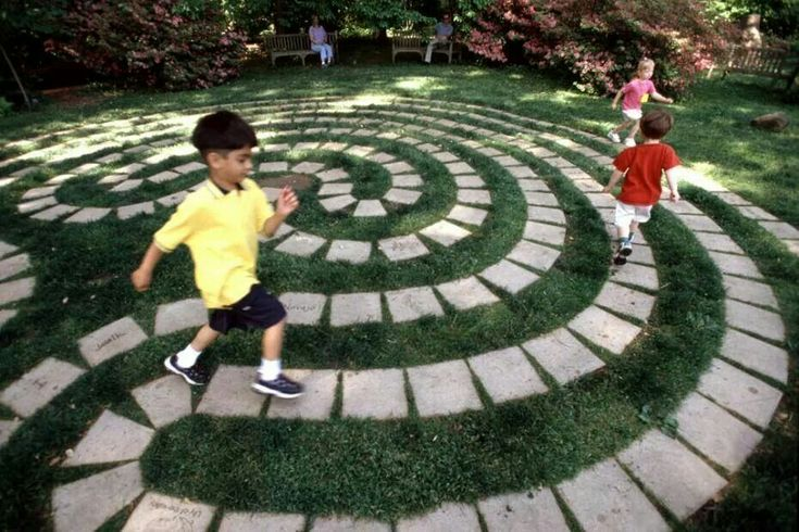 A sort of outdoor labyrinth