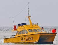 Havfiskeri, dykkerture og sejlture - Katamaran Sejlture M/S SeaHawk