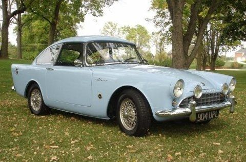My rare 1961 Sunbeam Alpine Harrington that I sold and turned up in Australia!Le Man