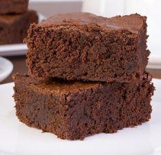 Receta de Brownie en Microondas.
