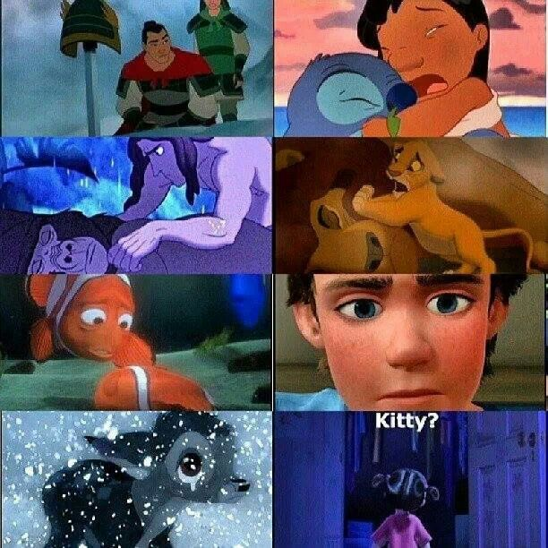 Day 8: Saddest Disney moment... All of them! All of them are  so sad especially monsters inc. one and toy story 3!