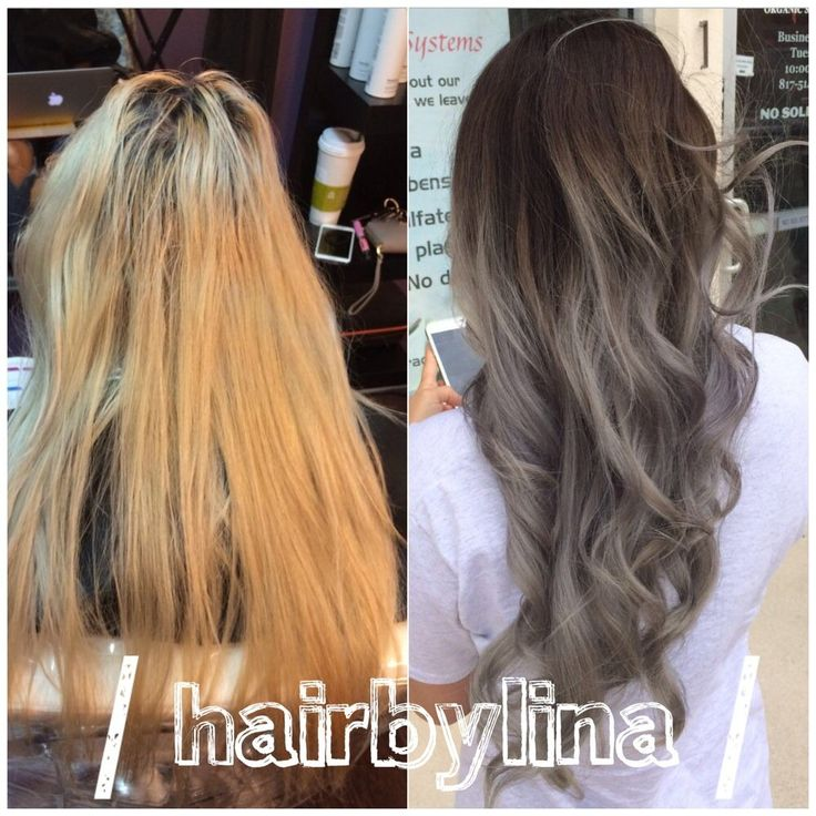 black to silver balayage - Google Search