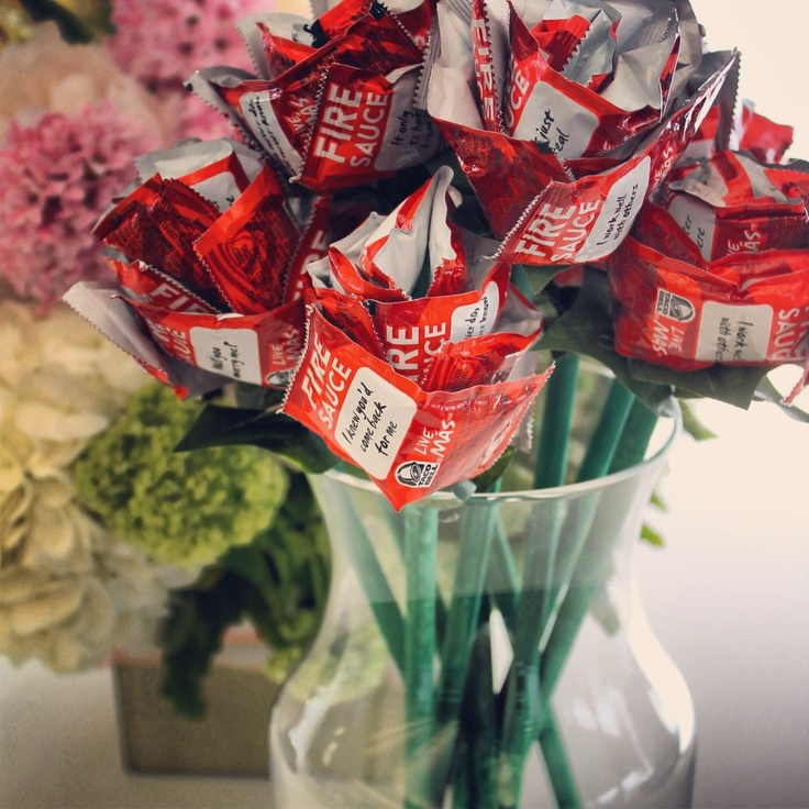Taco bell packet bouquet taco gifts taco bell wedding