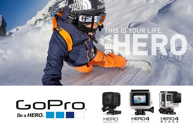Dream it, do it, and capture it with your GoPro. With features like built-in Wi-Fi, waterproof durability and more, GoPro puts the power to capture, create and share in the hands of everyone. GoPro camera & accessories are available at Fab Store outlet in Spinneys the Pearl Qatar madinat centrale. Or Visit http://fab-store.com