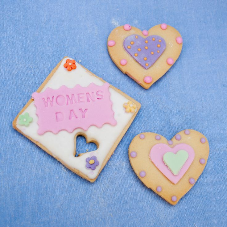 Women's Day biscuits