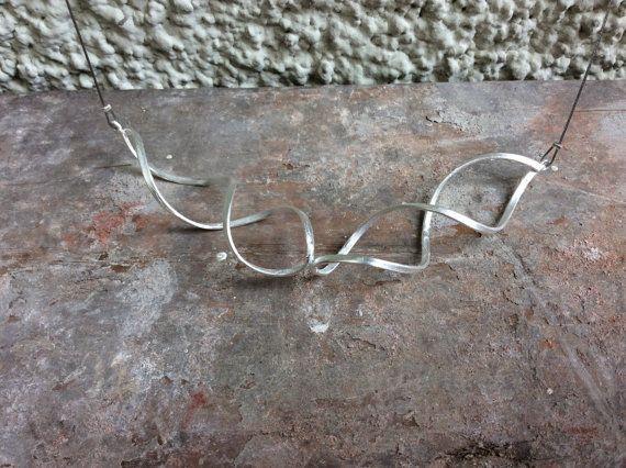 Handmade Necklace. Handmade choker. Modern Jewelry by Kairajewelry