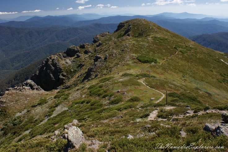 Mount Bogong Conquestathon: Mount Bogong Circuit via Staircase Spur and Eskdale Spur