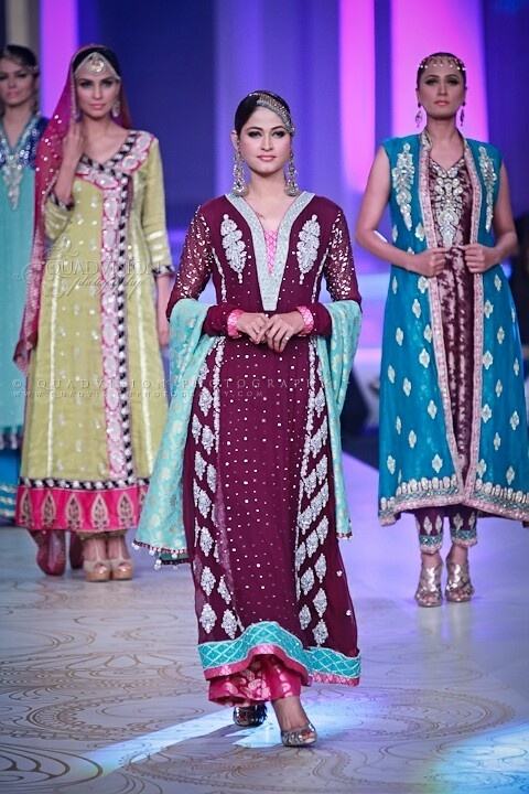 Pakistani Formal Wear - Sana Abbas