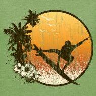 www.awiwear.com - vintage shirt - summer surfing t-shirt - surfer tshirt - surf tees