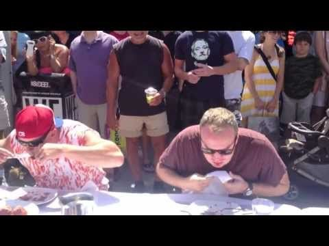 This year's Meatball Eating Competition at Trattoria during Kitsilano's Khatsahlano Festival 2013 was bigger and better than ever!