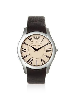 Emporio Armani Men's AR2041 Brown/Beige Stainless Steel Watch