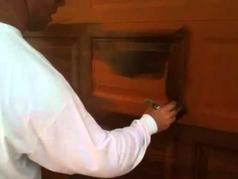 pretty good tutorial for creating a faux wood garage door on your existing standard metal garage door