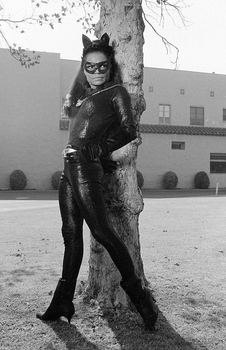 Eartha Kitt as Catwoman - she looks fantastic!!