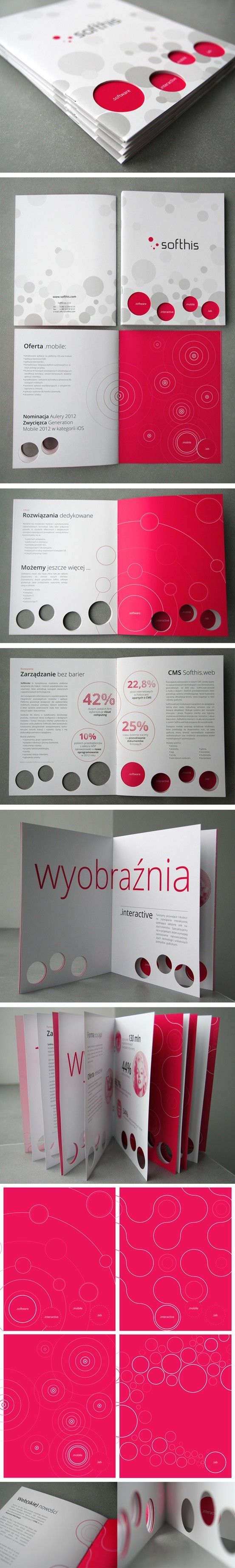 Here's a fascinating #diecut #brochure design to get your creative juices flowing! Customize and order yours at 4OVER4.COM