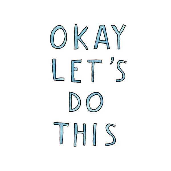 Marc Johns is back, this time with a hand-lettered push of encouragement. Are you ready? Yes? Okay, let's do this!
