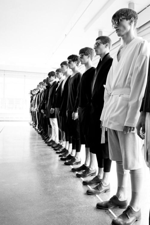 dior homme - relaxed elegance