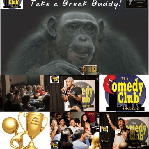 The Comedy Club Bangkok, short walk from BTS (skytrain) centre of town above a english Pub - WEEKLY events