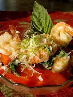 Thai Basil Shrimp with Coconut Rice