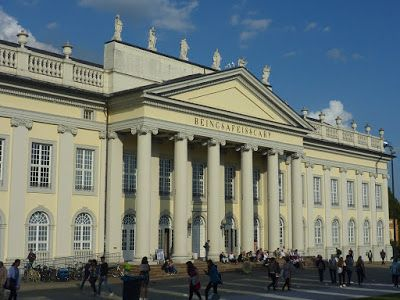 Fridericianum on a documenta 14 day in 2017