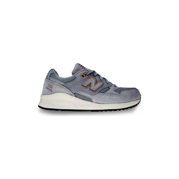 New Balance W530EAB Shoes (Trainers) (€165) ❤ liked on Polyvore featuring shoes, sneakers, grey, trainers, women, new balance footwear, new balance trainers, grey sneakers, grey shoes and new balance